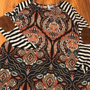 💋Women's Paisley Grace dress size Large💋